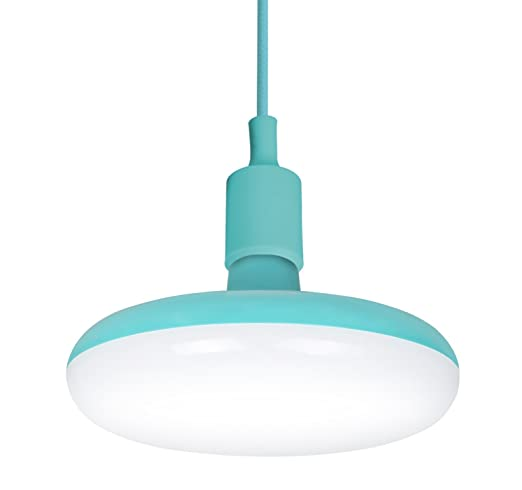 Garza Lighting - Lámpara Pendant LED Light, potencia 12 W, luz natural 4000K, color Turquesa