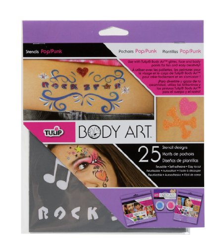 tulip-body-art-stencil-designs-pop-punk