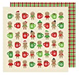 All Wrapped Up Collection Christmas 12 X 12 Double Sided Paper Hot Cocoa (6 Pack)