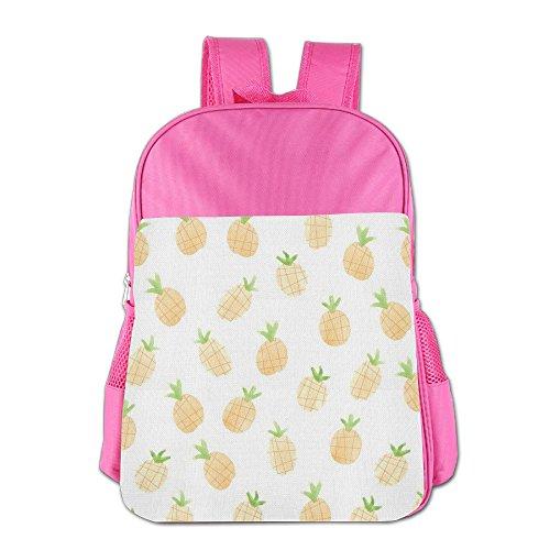 Price comparison product image GABRIELA ROSALES Flying Pineapple Eye-catching Color Unisex Children's Backpack Bag School Sport Shoulder Kids' Schoolbag Bags Satchel