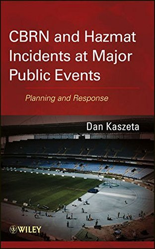 Hazmat Handle - CBRN and Hazmat Incidents at Major Public Events: Planning and Response by Dan Kaszeta (2012-11-28)