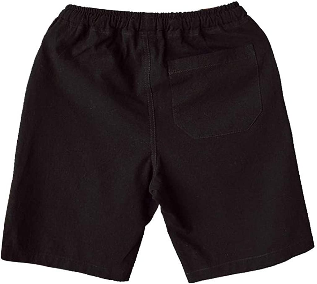 Mens Casual Shorts Summer Loose Drawstring Beach Board Shorts for Home,Workout,Surfing,Running,Swimming