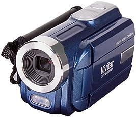 Vivitar - Videocámara digital de 12 MP con zoom digital de 4 x con visualización LCD de 1,8 pulgadas, color negro (DVR508)