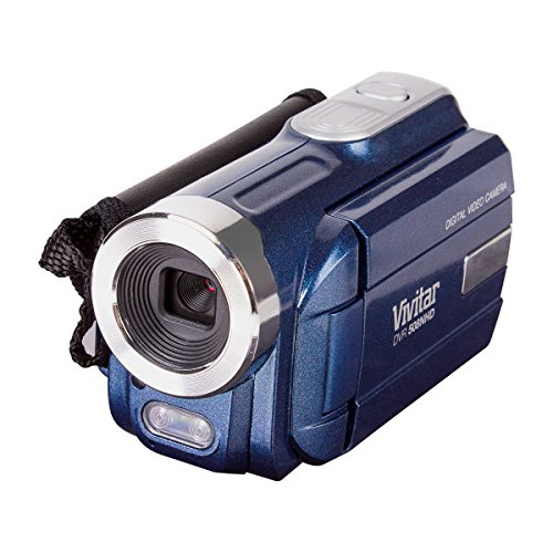 Vivitar DVR508NHD-BLU DVR-508 4X Digital Zoom Video Recorder, Colors May Vary (Players Mini Dv)