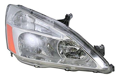 Honda Accord Rh Headlamp Light - Headlight Headlamp Passenger Side Right RH for 03-07 Honda Accord