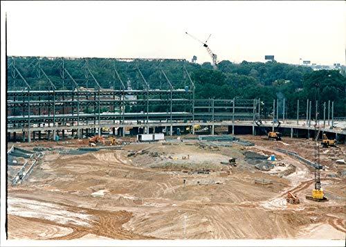 Atlanta Olympic Stadium - Vintage photo of New Olympic Stadium Atlanta, Ga.