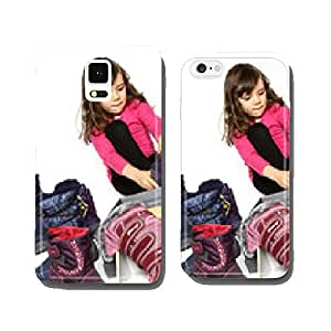 Girl attempts Winter Shoes cell phone cover case iPhone6
