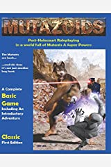 Mutazoids Post Apocalyptic Role Playing Game Classic First Edition 1.1 Paperback