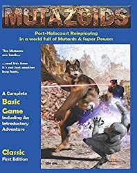 Mutazoids Post Apocalyptic Role Playing Game Classic First Edition 1.1