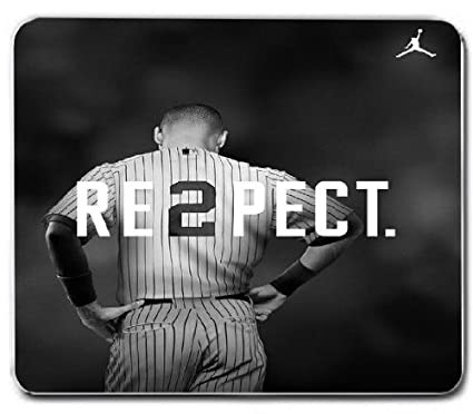 Amazon Derek Jeter Respect W Jordan Symbol Brand New Mouse Pad