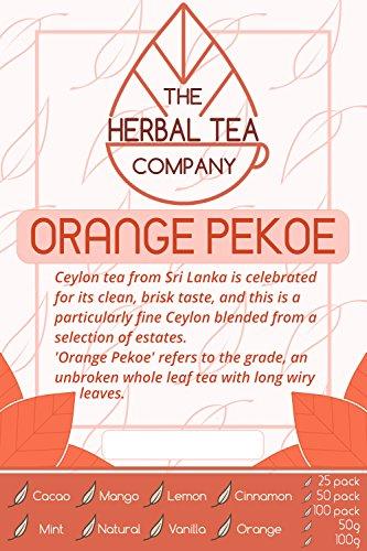 Prickly Pear Orange Pekoe Tea Bags With Natural Flavour 25 Pack