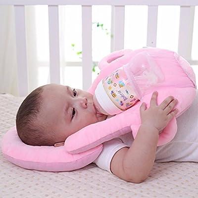 Infant Feeding Pillow for Bedding-Sunmid Baby Pillows Multifunction Nursing Breastfeeding Washable Adjustable Cushion Infant Feeding Pillow Baby Care Baby Bedding Set