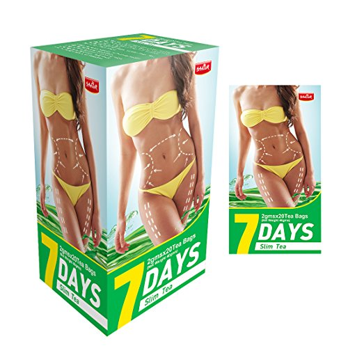 China Slim Tea Detox 7 Days Slim Tea Bags Weight Lose Fast Natural Skinny Fit Detox Tea for Bloating Belly Fat Everyday and Night