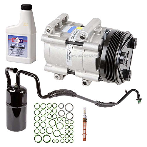 New AC Compressor & Clutch With Complete A/C Repair Kit For Ford Taurus Sable - BuyAutoParts 60-80185RK New