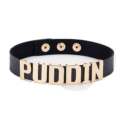 c3e2c58c37 Amazon.com  SwanElegant Puddin Choker Necklace Collar for Girls and Women