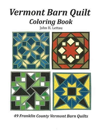 (Vermont Barn Quilt Coloring Book )
