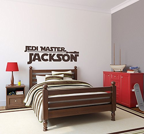 (Star Wars Custom Name Vinyl Wall Decal Sticker Art)