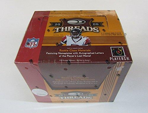(2006 Donruss Threads Football Box (Hobby))