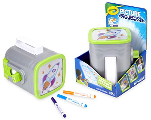 Crayola Picture Projector, Night Light Projector, Kids Flashlight, Gift, Ages 5, 6, 7, 8]()