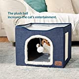 Bedsure Cat Beds for Indoor Cats - Large Cat Cave