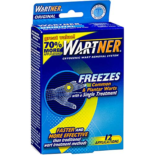 (Wartner Cryogenic Wart Removal System, 12 Applications)