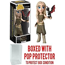 Funko Rock Candy: Game Of Thrones - Daenerys Targaryen Vinyl Figure (Bundled with Pop BOX PROTECTOR CASE)