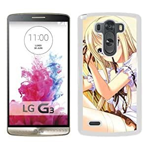 Popular And Unique Designed Cover Case For LG G3 With Girl Blonde Pin Chair Room white Phone Case BY icecream design