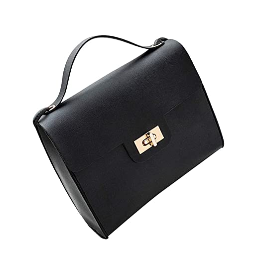 Amazon.com  Shoulder Bag for Women Fashion Turn Lock Satchel Tote Messenger Crossbody  Bag eb3f7bcb7b06d