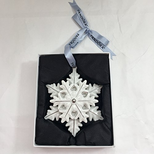 PANDORA SNOWFLAKE Collector 2015 Christmas Ornament Limited Edition w Box PUSP002 by SNOWFLAKE ORNAMENT (Image #6)