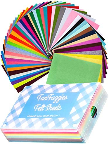 Assorted Stiff Felt Fabric Set product image