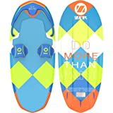 ZUP DoMore All-in-One Watersports Performance Board - Hex Pattern - Kneeboard, Wakeboard, Wakesurf Board and Water Skis! (Joey)