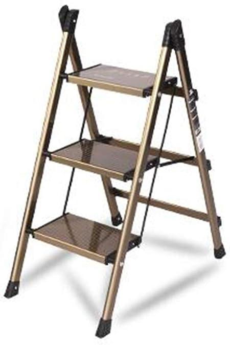 Tengyun Escalera de casa Escalera de la casa de Plegado Engrosamiento multifunción para Pintura, Limpieza, Otros Trabajos de casa. (Size : 3 Step): Amazon.es: Hogar
