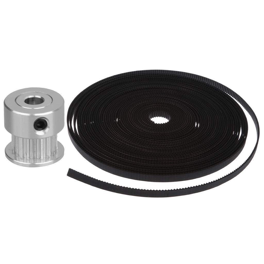 homyl gt2-6mm 3d printer open timing belt rubber synchronous 10m+pulley  gear wheel: amazon ca: electronics