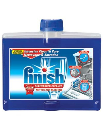 Finish Dishwasher Cleaner, Liquid 8.45 oz (250 ml)