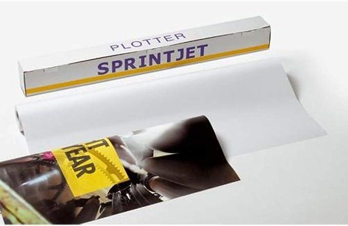 PAPEL PLOTTER BOBINA 914x50m (2): Amazon.es: Oficina y papelería