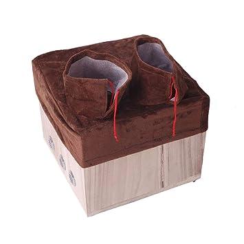 AB Emblems Fumigación Moxibustión del Pie,Multifunction Acupuntura Moxa Duradera Caja de Masaje,Cubierta de Tela de Filtro de Humo - 30 * 29 * 23cm: Amazon.es: Deportes y aire libre