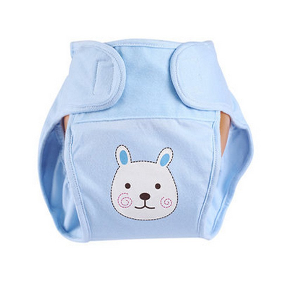 Lovely Rabbit Baby Leak-free Diaper Cover With Magic Tape (6-12 Months) Blancho Bedding