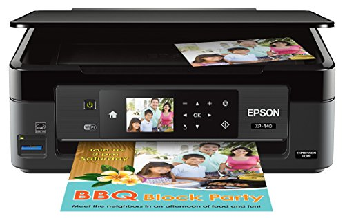Epson Expression Home XP-440 Wireless Color Photo Printer with Scanner and Copier, Amazon Dash Replenishment Enabled ()