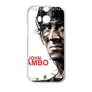 First Blood HTC One M8 Cell Phone Case White Q9242099