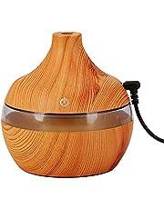 موزع الروائح العطرية 300 مل من روليكساكي يو إس بي مرطب هواء نوع خشبي صغير كتم صوت للزيوت العطرية للعلاج بالرائحة للمنزل والمكتب XYV7457-1OSSA