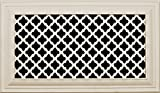6 x 8 wall register - Decorative Vent Cover for a 8x6 Opening. Resin Paint Grade Grille Can Be Used As Return, Supply, Foundation Vent, Register. Ribbon Design. 10x8 Overall Size