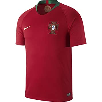 Nike 2018-2019 Portugal Home Football Shirt