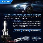 LED Headlight Bulbs H1 Led Car light 60W 12000Lumens Super Bright Waterproof Headlights Conversion Color temperature…
