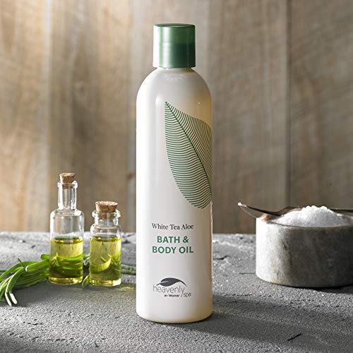 Westin White Tea Aloe Bath & Body Oil - Soothing, Invigorating Bath and Massage Oil with White Tea and Aloe - 8 ounces