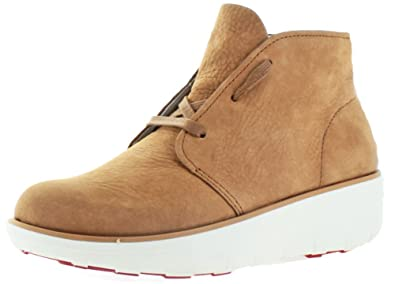 1ba14d3cb Image Unavailable. Image not available for. Colour  FitFlop Womens Boots  Loaff Ankle Boot Tan Nubuck ...