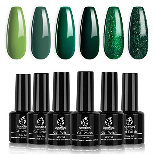 Top 10 recommendation gel nail polish green glitter for 2020
