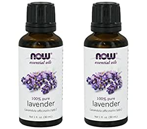Now Foods Lavender Essential Oil - Twinpack! (2 1oz Ounce Bottles)