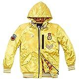 Twenty Six To Win Unisex Adult Ski Jacket,Insulated & Lined With Adjustable Hem, Cuff & Hood,Perfect Skiwear Ski & Snowboarding Jacket Windproof Rain Jacket(Yellow,XL)