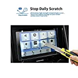LFOTPP Ford F-150 2017 2018 8 Inch Car Navigation Screen Protector, [9H] Clear Tempered Glass Infotainment Center Touch Display Screen Protector Anti Scratch High Clarity