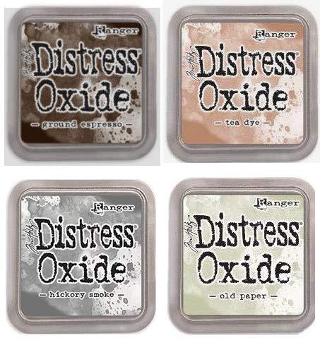 Tim Holtz Ranger Distress Oxide Ink Bundle K - Four 3